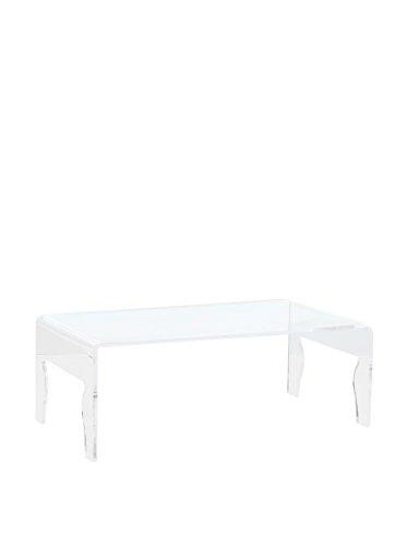 Tavolino. Piano e gambe in metacrilato (spessore 12 mm). Raffinato complemento ideale ovunque occorra un tavolo di servizio in più.