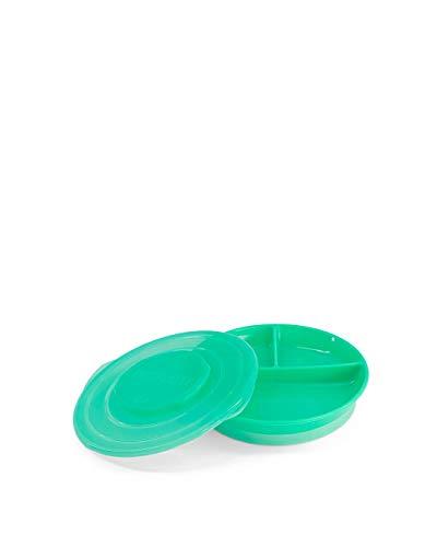 TWISTSHAKE 78171 - Platos, Color, Verde Pastel