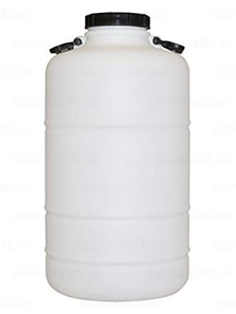PLASTICOS HELGUEFER - Bidon 50 litros Redondo Boca Ancha