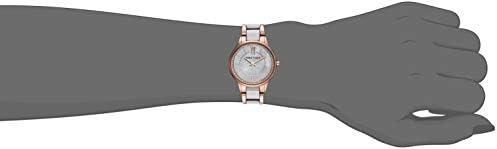 Anne Klein Women's Premium Crystal Accented Ceramic Bracelet Watch WeeklyReviewer