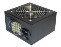 Realpower RP-650 TC Silent PC Unidad de Fuente de alimentación 650 W ATX PFC 12 cm Ventiladores
