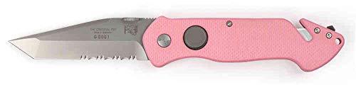 Eickhorn - Rettungsmesser PRT-III N695 G-10 Pink   Klingenlänge: 8,4 cm   Klappmesser - Taschenmesser - Solingen - Messer   rostfrei