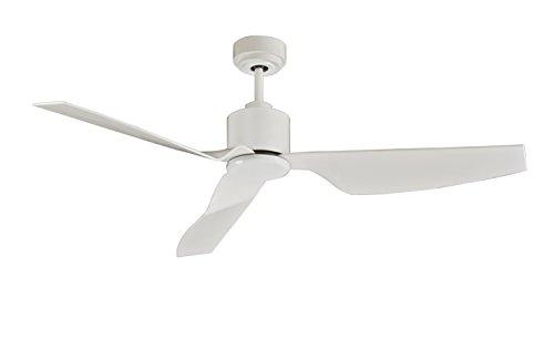 Lucci air Airfusion Climate II Deckenventilator, 127 cm Durchmesser, Weiß, ECO-DC-Motor energiesparend (35 W), mit Fernbedienung (6 Stufen), Sommer/Winter Lauf