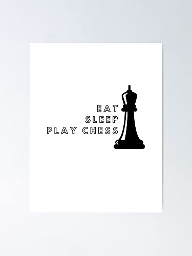 MCTEL Chess Player Lifestyle Poster