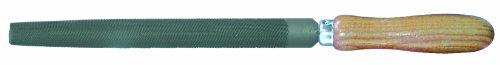 Outifrance - Lime demi-ronde, manche bois, 200 mm, Bâtarde Outifrance