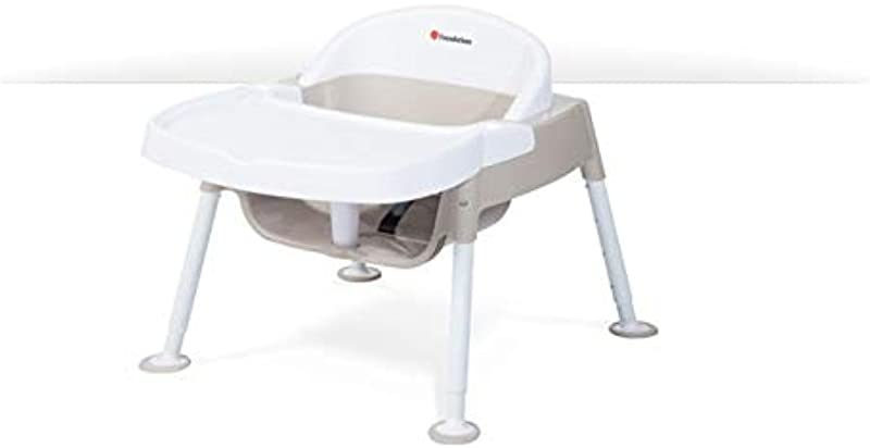 Foundations 4630247 7 13 In Secure Sitter Premier Feeding Chair44 White Tan Pack Of 3