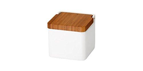 Tescoma Vorratsbehälter, Keramik, weiß/braun, 12.4 x 11.9 x 11.5 cm