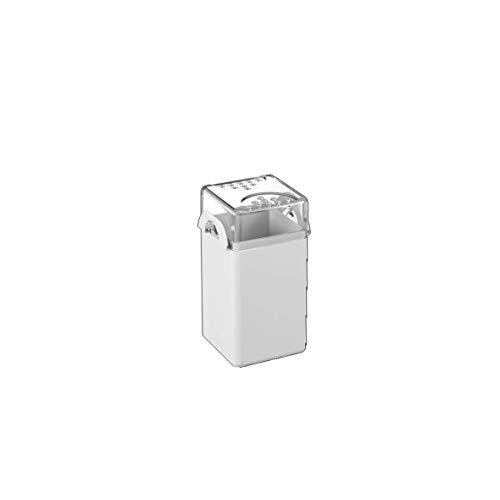 Saleiro/Pimenteiro Casual, 5 x 4 x 8 cm, Branco, Coza