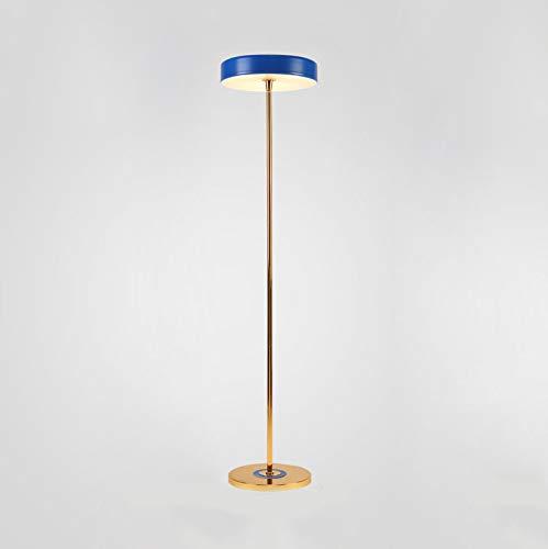 lampadaire Lampadaire, Led Lampadaire Vertical, Acrylique, Bleu, Salle De Séjour