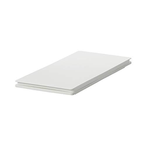 無印良品 ポリプロピレンフタが選べるダストボックス用フタ・縦開き用 幅20.5×奥行42×高さ3cm 37494268 ライトグレー