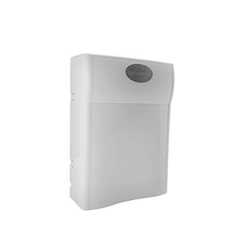 SPRUDELUX® FT-LINE 3. Aktivkohle-Wasserfilter-System mit UF-Filtration ohne Wasserhahn inkl. Anschlusset geeignet auch für Sprudel-Lok, Sprudelgeräte, Wassersprudler, Sprudelsysteme (6mm)