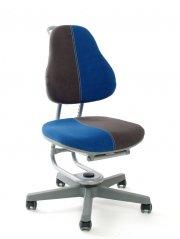 Jugenddrehstuhl Buggy von Rovo Chair in Blau-Grau
