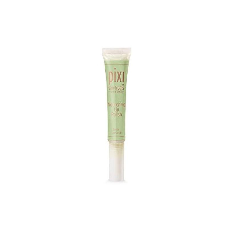 カタログ有彩色の刺繍Pixi Nourishing Lip Polish (Pack of 6) - 栄養リップポリッシュ x6 [並行輸入品]