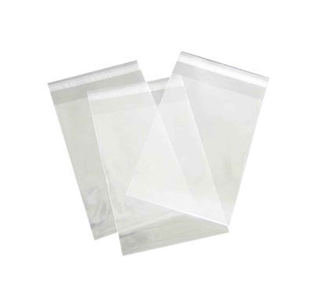 11 x 14 Clear Cello Bags Resealable 100 Pack