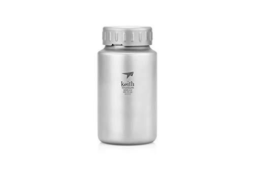 Botella deportiva de titanio, 900 ml
