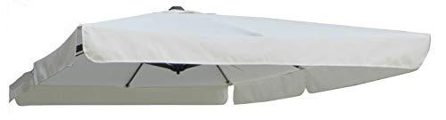 Top copertura ricambio per ombrellone SMERARDA accessorio 2X3 MT