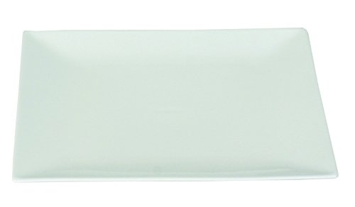 Dajar Dessertteller 18 cm Porto, Porzellan, Weiß, 18 x 18 x 2 cm