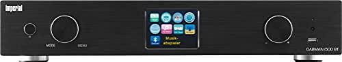 Imperial DABMAN i500BT - Sintonizador Hi-Fi (WLAN/LAN/Dab+/FM/Bluetooth, Pantalla a Color TFT, USB, RCA, Salida Digital óptica y eléctrica, Mando a Distancia, Control por aplicación), Color Negro