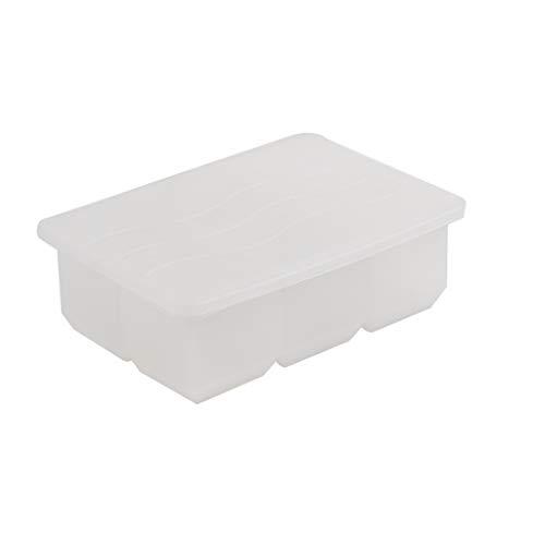 Siliconen ijsblokjes ijskast met deksel zelfgemaakte ijshockey artefact thuis kleine vriezer koelkast ijsblokjes mal