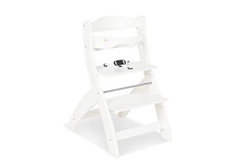 Pinolino 155402 Treppenstuhl 'Thilo', weiß lackiert, weiß