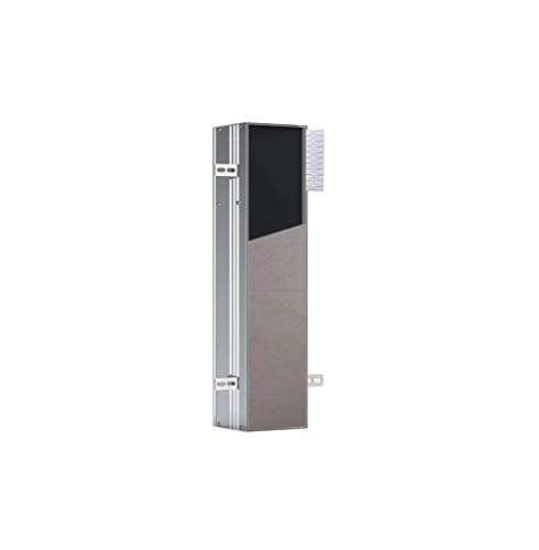 Emco Asis plus WC Modul 658 mm (Türanschlag links, integrierte WC-Bürste, befliesbar, UP-Model, Fach für WC Papier) 975611006