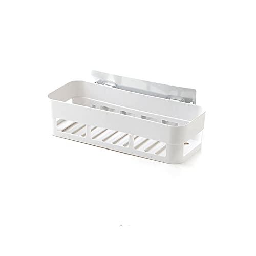 PPCERY Estante de baño Baño Adhesivo Adhesivo Almacenamiento Cocina Decoración del Hogar Esquina Estante Estante Estante Estante Almacenamiento Accesorios 3 Color (Color : A, Size : 26 * 10 * 6cm)