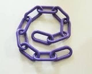 JellyBeadZ 1 1/2 Inch Purple Plastic Chain Bird Toy Parts- 5 Foot Length