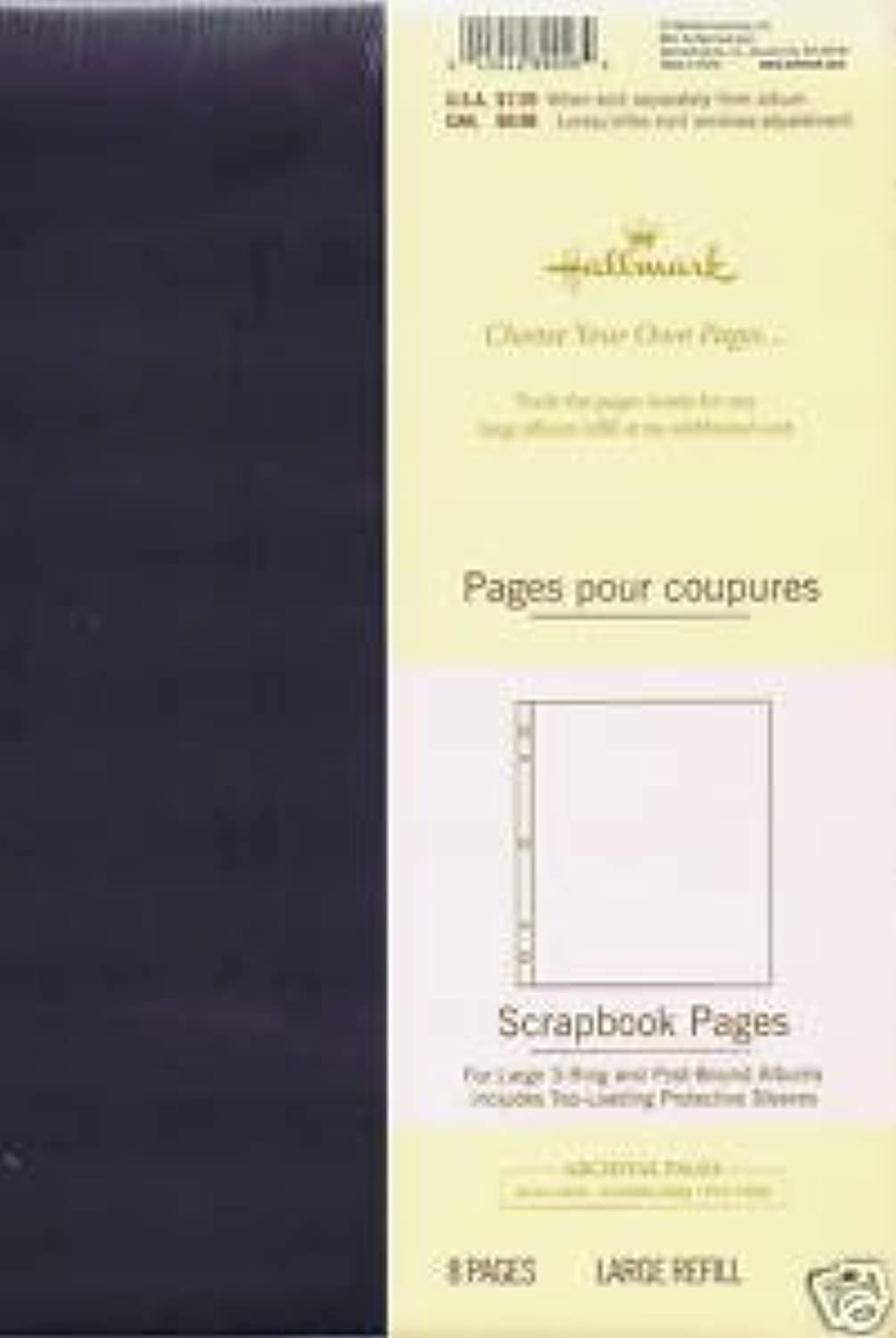 Hallmark Scrapebook Pages for Large 3-ring Post Bound Albums