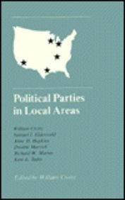Hardcover Political Parties in Local Areas Book