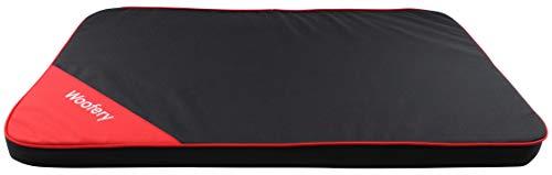 Woofery - Hundematte Remy - schmutzabweisend Cordura XL 120 x 80 cm schwarz
