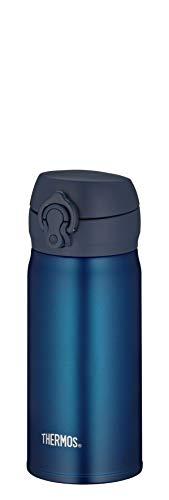 THERMOS Bouteille isotherme en acier inoxydable Bleu 0,35 l