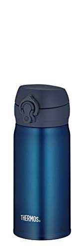 Thermos - Termo (acero inoxidable, 0,35 L), color azul