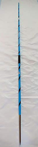 SKS Javelin Aluminium Alloy Throw Stick (Double Colour Blue with Black, 800 Grams)