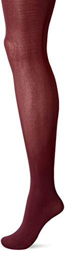 Hanes Silk Reflections Women's Hanes Opaque Tights, Pinot Burgundy, MEDIUM