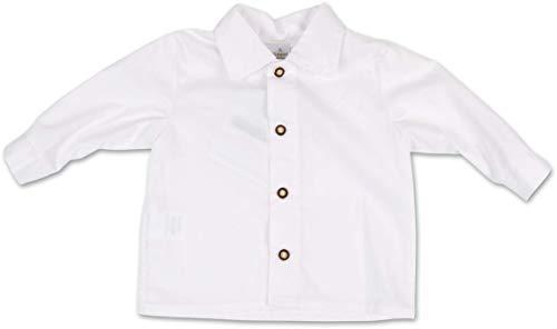 Trachten Hemd Buben Weiß Gr.62-92 Baby Kinder Trachtenhemd