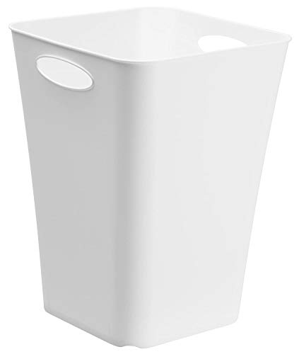 Rotho Living quadratische Aufbewahrungsbox 23l, Kunststoff (PP) BPA-frei, weiss, 23l (29,5 x 29,5 x 39,5 cm)