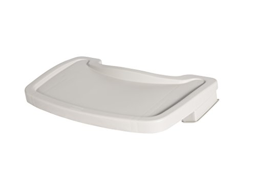 Why Should You Buy Rubbermaid Commercial Products Food Tray for Sturdy High-Chair, Platinum (FG78158...