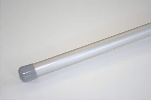 famatex Auslegerstab Aluminium eloxiert Ø 25 mm inkl. Abschlusskappe (90 cm Länge)