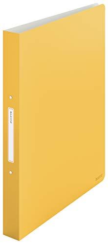 Leitz Ringbuch, 190 Blatt, 32mm Rückenbreite, Warmes Gelb, A4, Cosy-Serie, 42380019