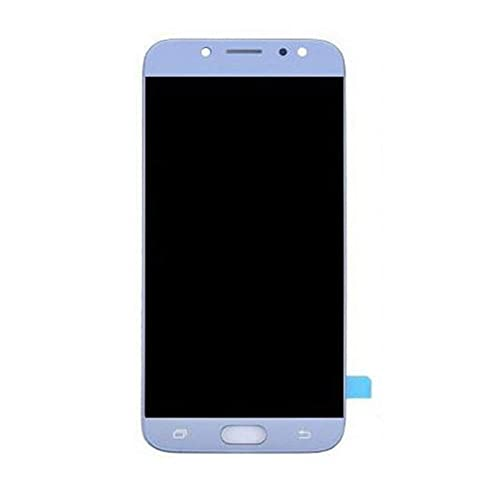 DDBAKT Reemplazo de pantalla de teléfono móvil duradero para Samsung Galaxy J7 2016 J710 SM-J710M Pantalla LCD táctil (Color: Negro) (Azul)