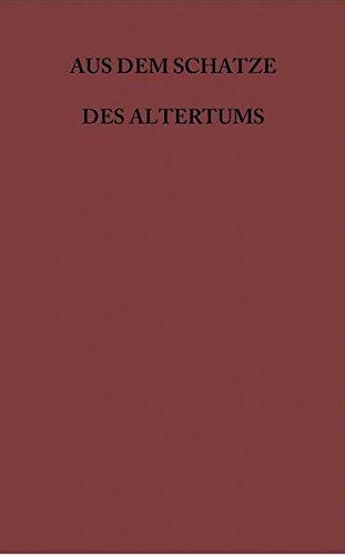 Aus dem Schatze des Altertums / A. Griechische Schriftsteller: Aus dem Schatze des Altertums / Sophokles, Aias: A. Griechische Schriftsteller