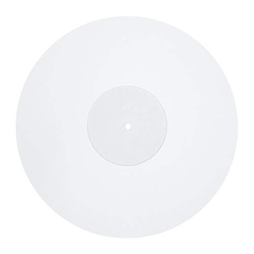 Sweo Acryl-Schallplattenblock, antistatisch, LP Vinyl, Slipmat für Plattenspieler, Phonograph, Zubehör, 30,5 cm, 3 mm