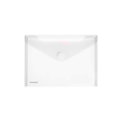 Sichttasche A5quer, transparent farblos matt, 10 Stück