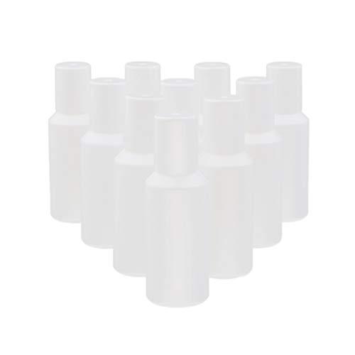 MERIGLARE 10x Mini Bouteille De Boule De Rouleau Bouteille Vide De Rouleau Avec Des Boules Pour L'huile Essentielle - 5ML
