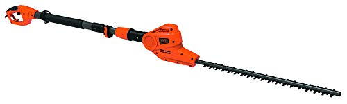 BLACK+DECKER PH5551-QS Tagliasiepi a Testa Orientabile, 550 W, Lama 51 cm, Passo 22 mm