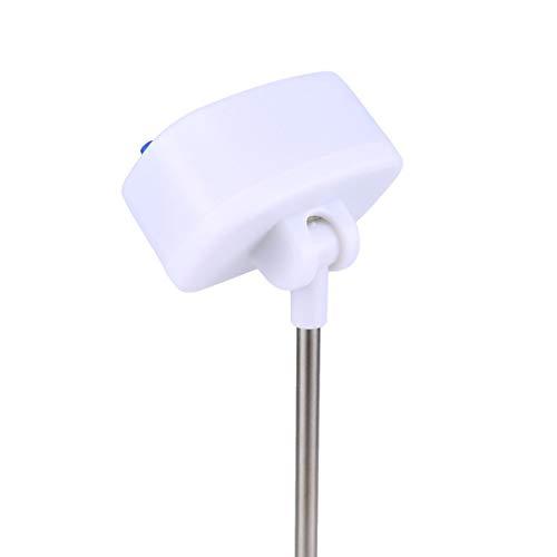 Panamami TA288 Digitales Thermometer, tragbar, für Öl, Milch, Kaffee, Wassertemperatur-Tester, Küchenthermometer, Lebensmittel-Sonde – Weiß