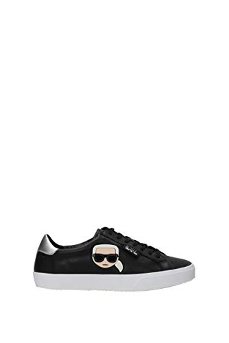 Karl Lagerfeld KL60120 000 Sneaker Frau Schwarz 38
