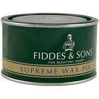 Fiddes & Sons Furniture Supreme Wax Polish - Clear (Light) by Fiddes