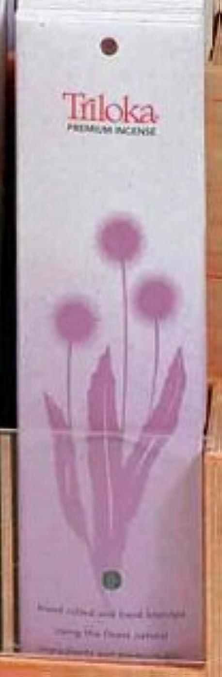 鳴り響く祖先対称Lotus Champa?–?TrilokaプレミアムIncense Sticks