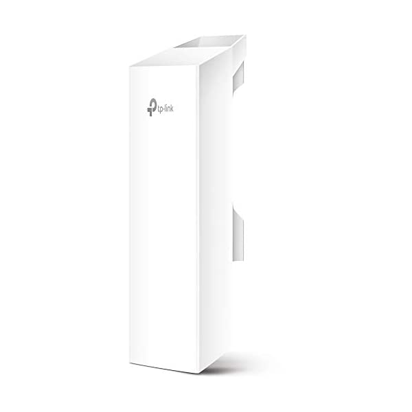 TP-Link 5GHz N300 Long Range Outdoor CPE for PtP and PtMP Transmission   Point to Point Wireless Bridge   13dBi, 15km…